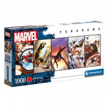Marvel Comics Panorama skládací puzzle Panels (1000 pieces)