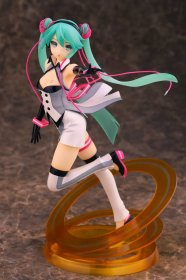Vocaloid PVC Socha 1/7 Miku Hatsune Nijigen Dream Fever Version