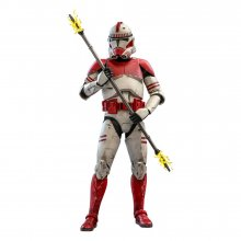 Star Wars The Clone Wars Akční figurka 1/6 Coruscant Guard 30 cm