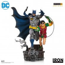 DC Comics Deluxe Art Scale Socha 1/10 Batman & Robin by Ivan Re