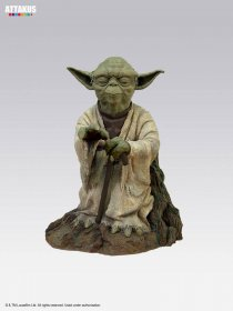 Star Wars Episode V Elite Collection Socha Yoda on Dagobah 23 c
