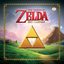 The Legend of Zelda Calendar 2021