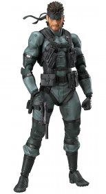 Metal Gear Solid 2 Sons of Liberty Figma Action Figure Solid Sna