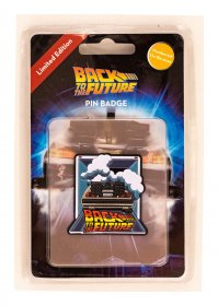 Back to the Future Odznak DeLorean