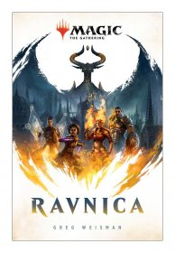 Magic the Gathering Book Ravnica by Greg Weisman *English Versio