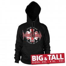 Hoodie mikina Def Leppard Pour Some Sugar On Me 3XL-5XL