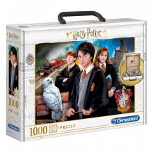 Harry Potter skládací puzzle Briefcase (1000 pieces)