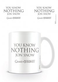 Game of Thrones Hrnek You Know Nothing Jon Snow