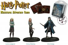 Harry Potter Miniatures 35 mm 3-pack Brumbál's Army *English