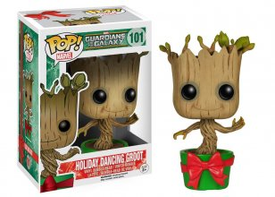 Guardians of the Galaxy POP! Vinyl Bobble-Head Holiday Dancing G