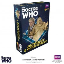 Doctor Who Exterminate! Miniatures Abzorbaloff & Victor Kennedy