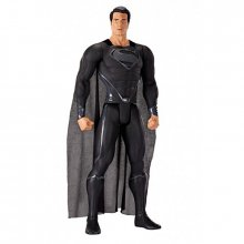 Man of Steel gigantická akční figurka Black Suited Superman 79cm