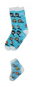Harry Potter Magic ponožky Single Pack Bradavice Kawaii
