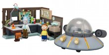 Rick and Morty Large Stavebnice Spaceship & Garage