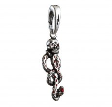 Harry Potter Bracelet Charm Lumos Dark Mark
