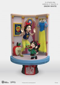 Ralph Breaks the Internet D-Stage PVC Diorama Snow White & Vanel
