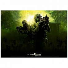 Plakát Counter Strike Global Offensive Poster Green