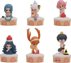 The Legend of Hei Collectible Series mini figurky 6-Pack Happy B