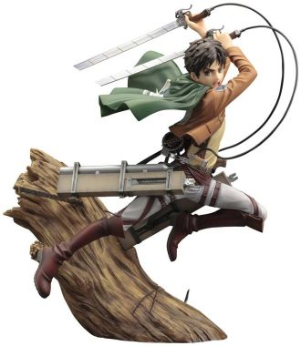 Attack on Titan ARTFX J Socha 1/8 Eren Yeager Renewal Package V