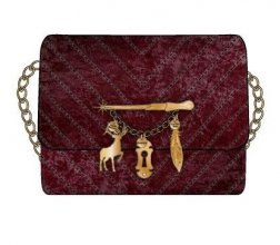 Harry Potter 2 in 1 Crossbody / Clutch Spells
