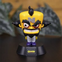 Crash Bandicoot 3D Icon světlo Doctor Neo Cortex 10 cm