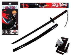 Bleach Pěnový meč with Wooden Handle Ichigo Bankai Tensa Zangets