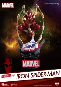 Marvel D-Select PVC Diorama Iron Spider-Man 16 cm