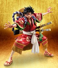 One Piece Excellent Model P.O.P PVC Statue Monkey D. Luffy Kabuk