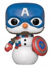 Marvel Holiday POP! Marvel Vinylová Figurka Captain America 9 cm