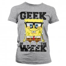 Dámské triko SpongeBob Geek Of The Week