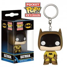 DC Comics POP! přívěsek na klíče 75th Anniversary Batman Yellow