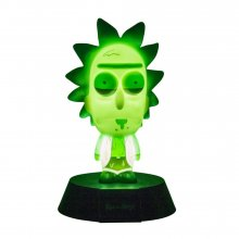 Rick & Morty 3D Icon světlo Rick Limited Edition 10 cm