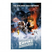 Plakát Star Wars The Empire Strikes Back 61 x 91 cm