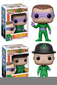 Batman 1966 POP! Heroes Vinyl Figures 9 cm Riddler Assortment (6