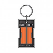 Call of Duty Black Ops 2 přívěšek na klíče Orange Logo