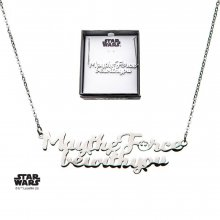 Star Wars Stainless Steel Pendant with Chain May the Force be wi