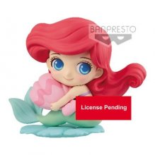 Disney Q Posket Sweetiny mini figurka Ariel Milky Color Ver. 10