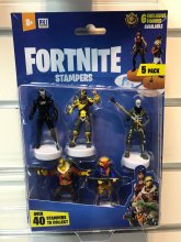 Fortnite Stamps 6 cm 5-Packs prodej v sadě (24)