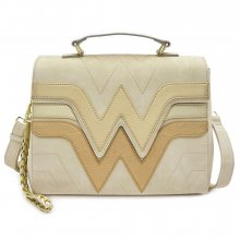 Wonder Woman by Loungefly Crossbody Golden Logo