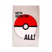 Pokemon fleece deka Pokeball 100 x 150 cm