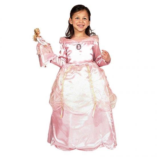 Dětský karnevalový kostým Barbie plus šaty pro panenku
