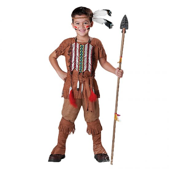 Dětský karnevalový kostým Indián Apač