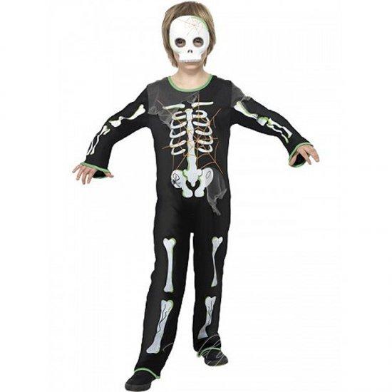 Dětský kostým kostlivec Skeleton M