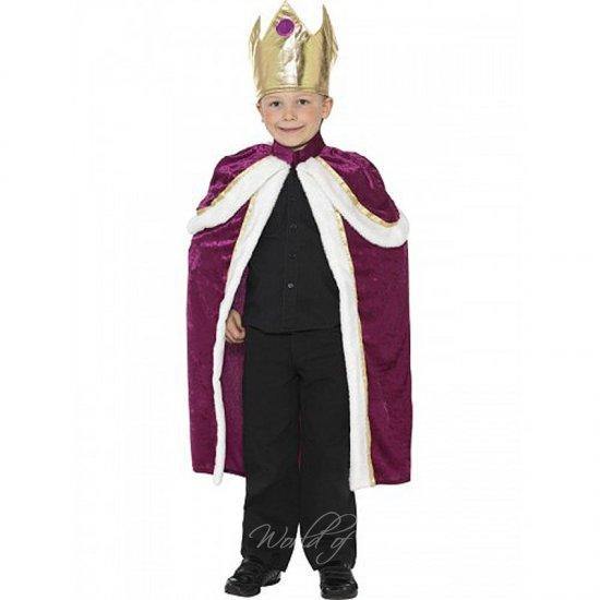 Dětský kostým král S