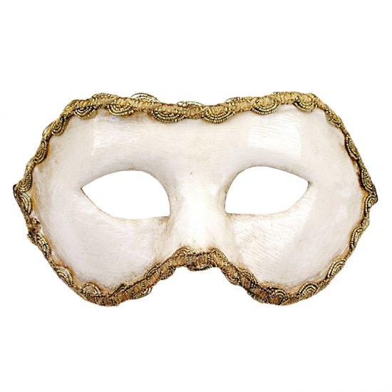 Karnevalová maska Colombina Colombina Bianca