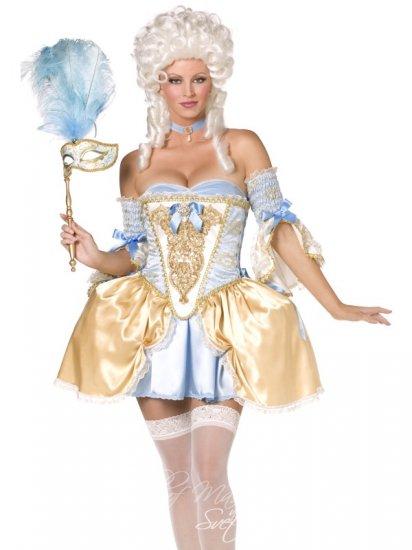 Barokní šlechtična sexy kostým / maškarní ples