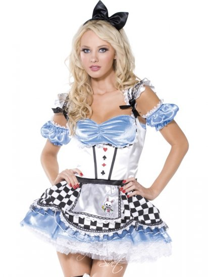 Originální karnevalový kostým Sladká Alice Fever sexy kostým