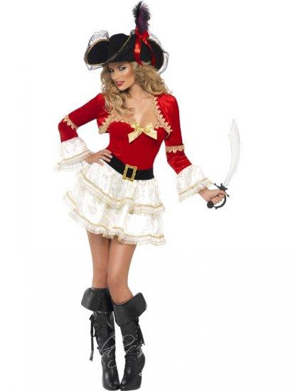 Piráti sexy kostým Svůdná korzárka / maškarní kostýmy